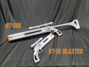 Mandalorian DT-10R Rifle - KIT Star Wars Inspired, Bounty Hunter, Merc, cosplay, collection, replica