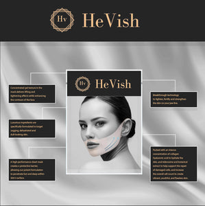HeVish® Double Chin Reducer & V-Shaped Slimming Mask