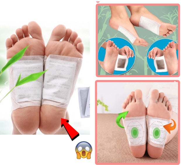 Detox Foot Pads - 60Pcs