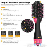2 in 1  Hair Straightener Curler & Styling Brush
