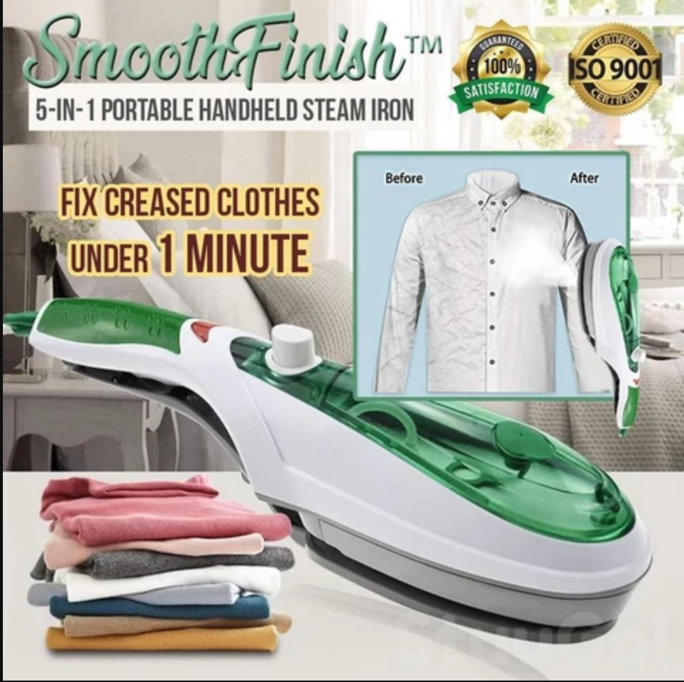 5-IN-1 PORTABLE HANDHELD STEAM IRON