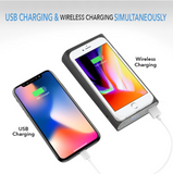 Authentic Qi 10000 mAh Wireless Portable Charger Power Bank
