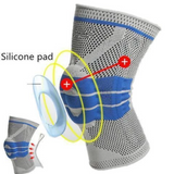 SILICONE KNEE SUPPORT BRACE