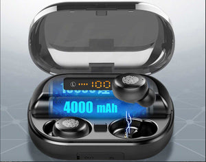 LATEST TOUCH CONTROL WIRELESS EARBUDS (4000MAH BATTERY)