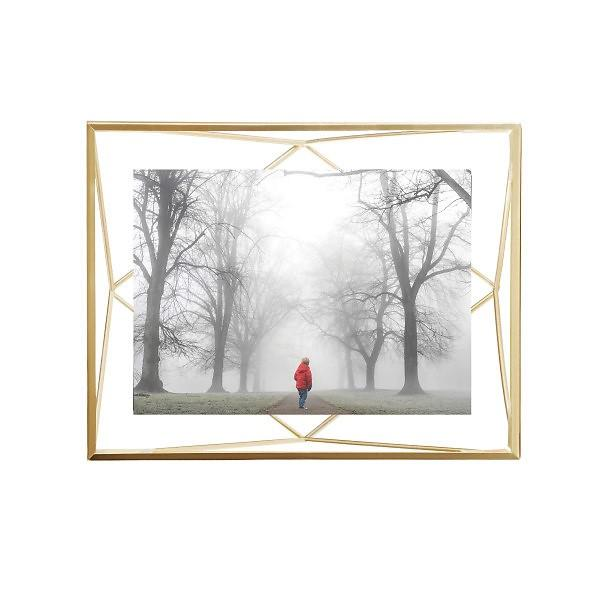 Prisma Photo Frame Large - Brass