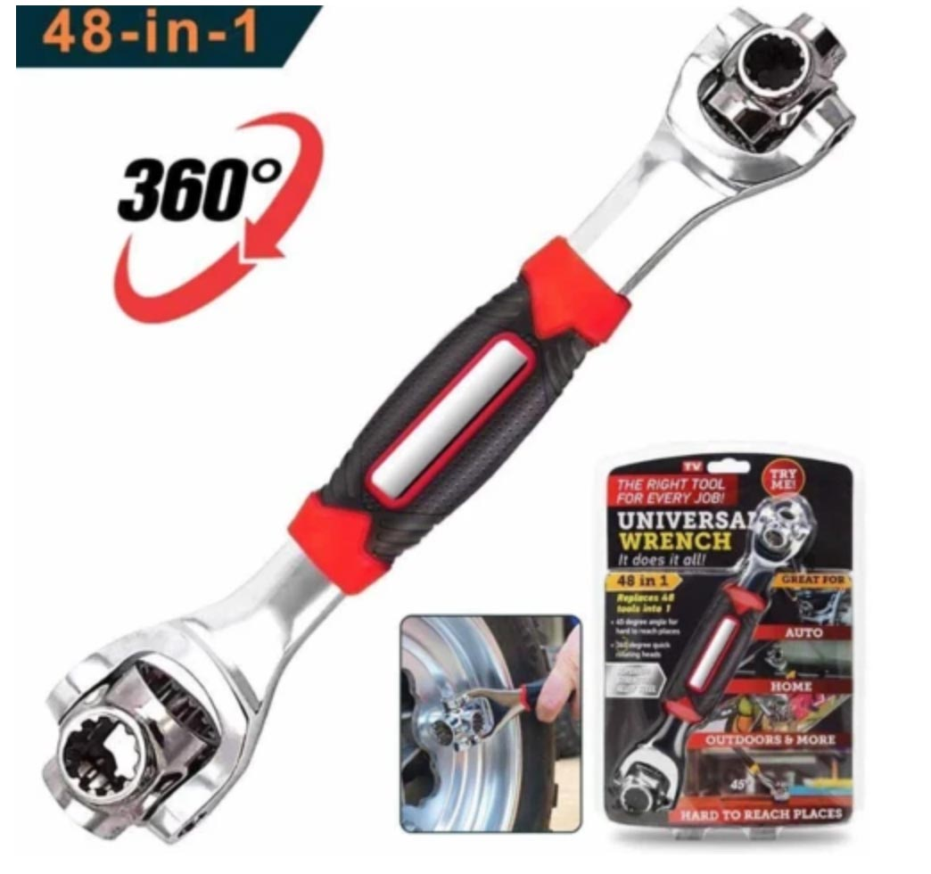 UNIVERSAL WRENCH PRO - 360 DEGREE 12-POINT MULTI-PURPOSE