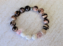 Load image into Gallery viewer, handmade natural diffuser bracelet
