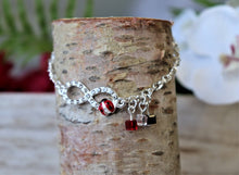 Load image into Gallery viewer, charm silver bracelets