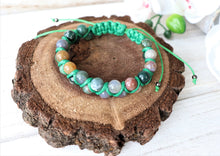 Load image into Gallery viewer, braided gemstone bracelet