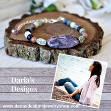 Load image into Gallery viewer, gemstone beaded bracelet