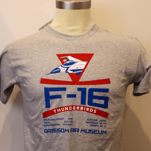 Load image into Gallery viewer, Kids F-16 Thunderbird Shirts