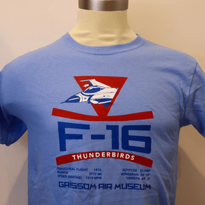 Kids F-16 Thunderbird Shirts