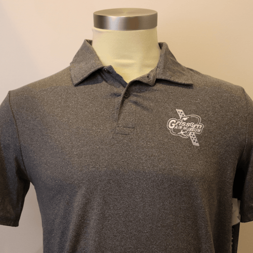 GAM Grey Golf Polo