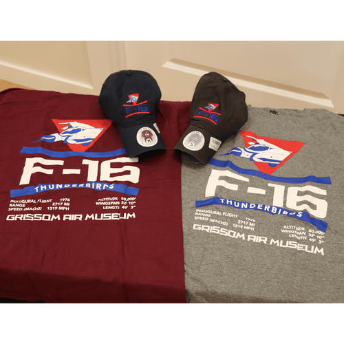 F-16 Thunderbird Hat And Shirt Combo