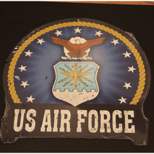 Load image into Gallery viewer, Military Emblem Sign