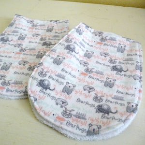 Night Night Animals Burp Cloth Set