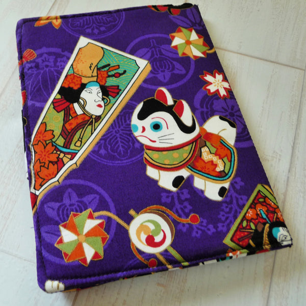 Book Style Kindle Case Maneki Neko
