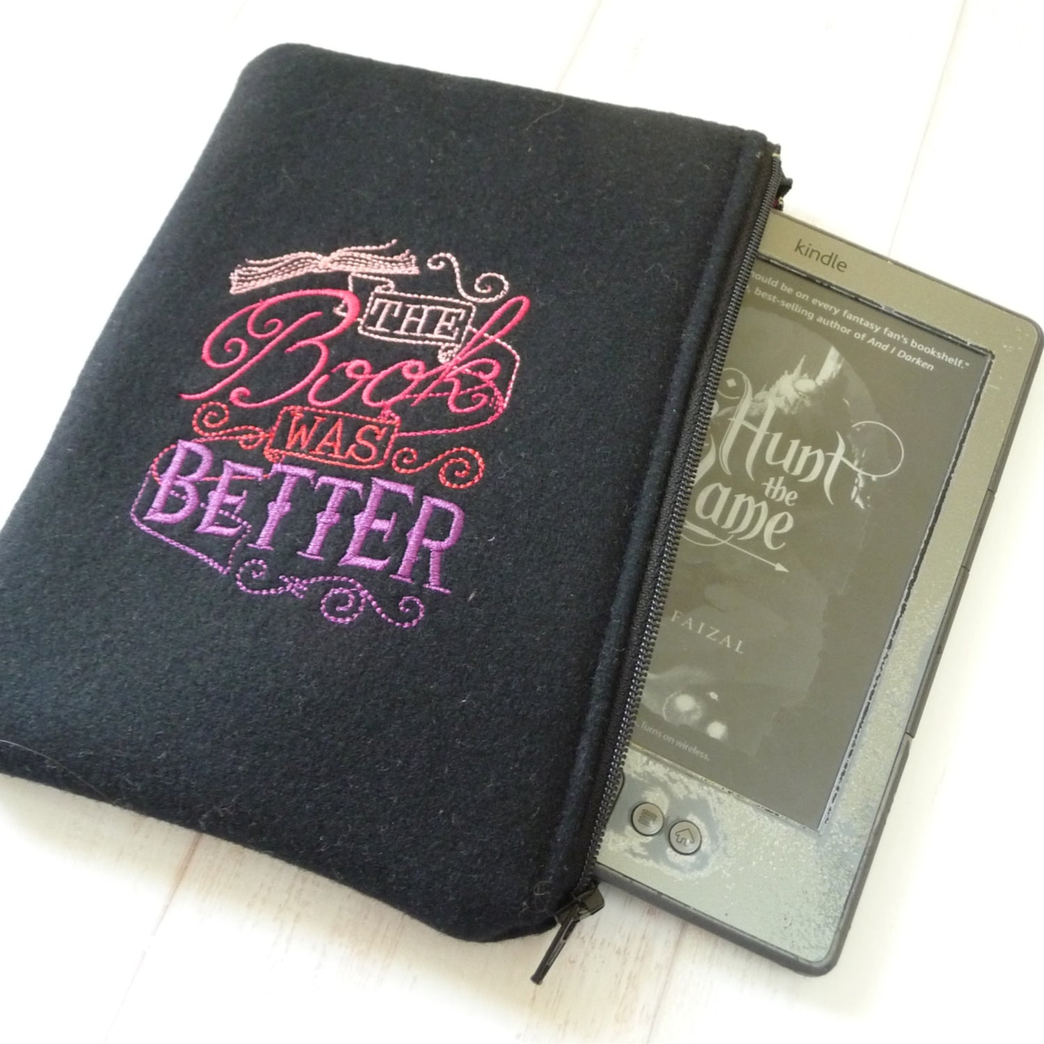The Book Was Better Kindle Sleeve