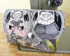 Ghastlies Mini Necessary Clutch Wallet Multiple Card Slots