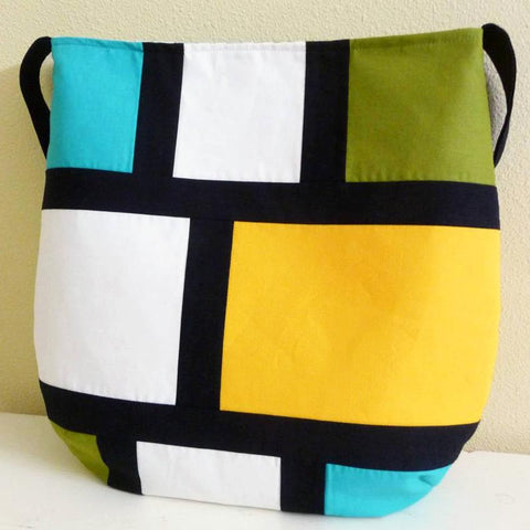 Handmade Color Black Shoulder Bag