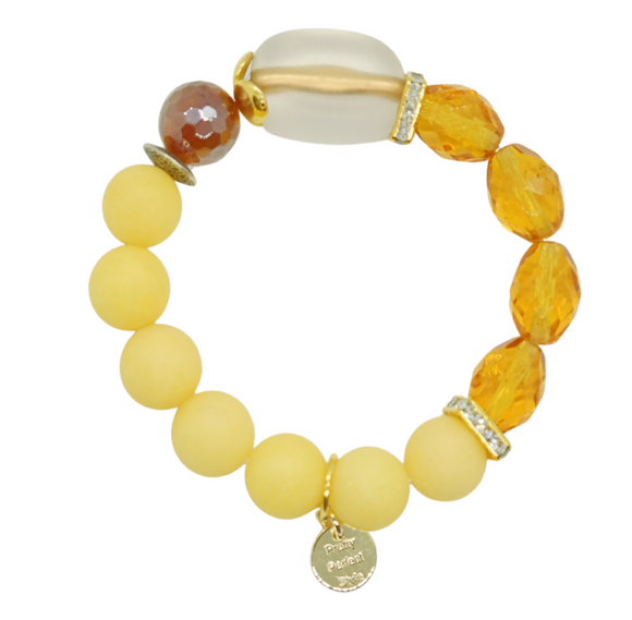 Yellowbird Lucite One of a Kind Bracelet