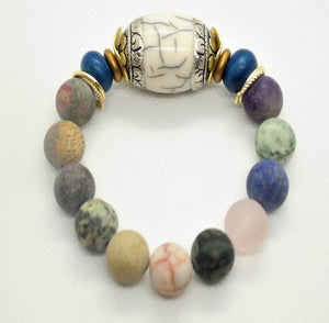 Mixed Media One of a Kind Bracelet