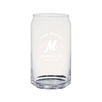Muse Logo Can Glass