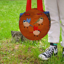 Load image into Gallery viewer, spisidda design borsa di legno artigianale fatta a mano big bag