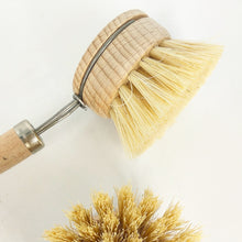 Load image into Gallery viewer, Eco dish brush replaceable bristle head