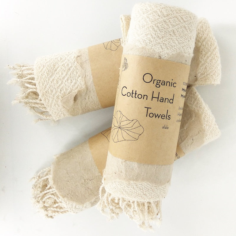 Organic Cotton Hand Towel Myanmar