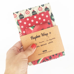 Beeswax Wrap Set Hapbee Wraps Myanmar