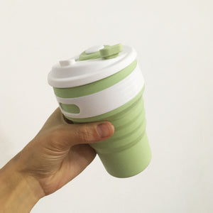 Silicone Foldable Coffee Cup