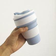 Load image into Gallery viewer, Silicone Foldable Coffee Cup