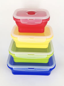 Silicone Foldable Food Container