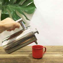 Load image into Gallery viewer, Stainless Steel French Press