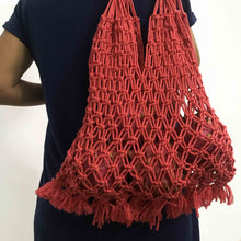 Load image into Gallery viewer, Macrame Shopping Bag