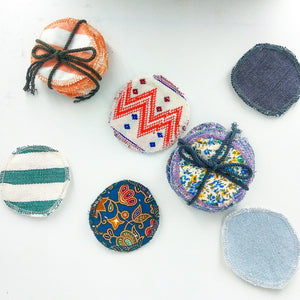 reusable facial rounds various patterns