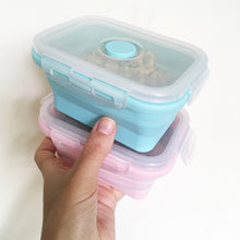Load image into Gallery viewer, Silicone Foldable Food Container