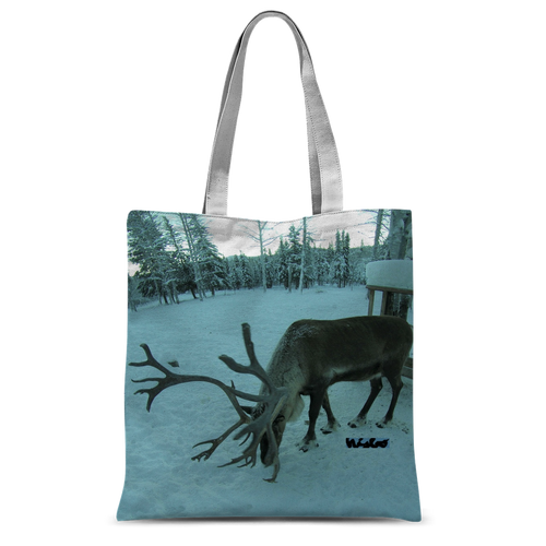 Classic Sublimation Tote Bag - Rudolph the Reindeer Collection