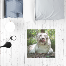 Load image into Gallery viewer, Sublimation Mat / Carpet / Rug / Play Mat / Pet Feeding Mat - Wally the White Tiger Collection