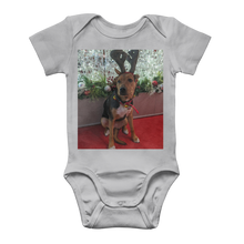 Load image into Gallery viewer, Baby Onesie Bodysuit - Christmas Dog