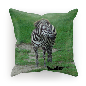Sublimation Cushion/Throw Pillow Cover - Zoey the Zebra Collection