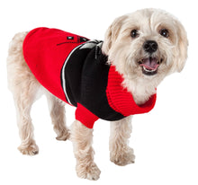 Load image into Gallery viewer, Snow Flake Cable-Knit Ribbed Fashion Turtle Neck Dog Sweater (2 Colors Available)