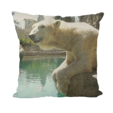 Load image into Gallery viewer, Throw Pillow/Cushion Covers - Arctic Polar Bear Collection