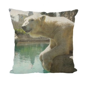 Throw Pillow/Cushion Covers - Arctic Polar Bear Collection
