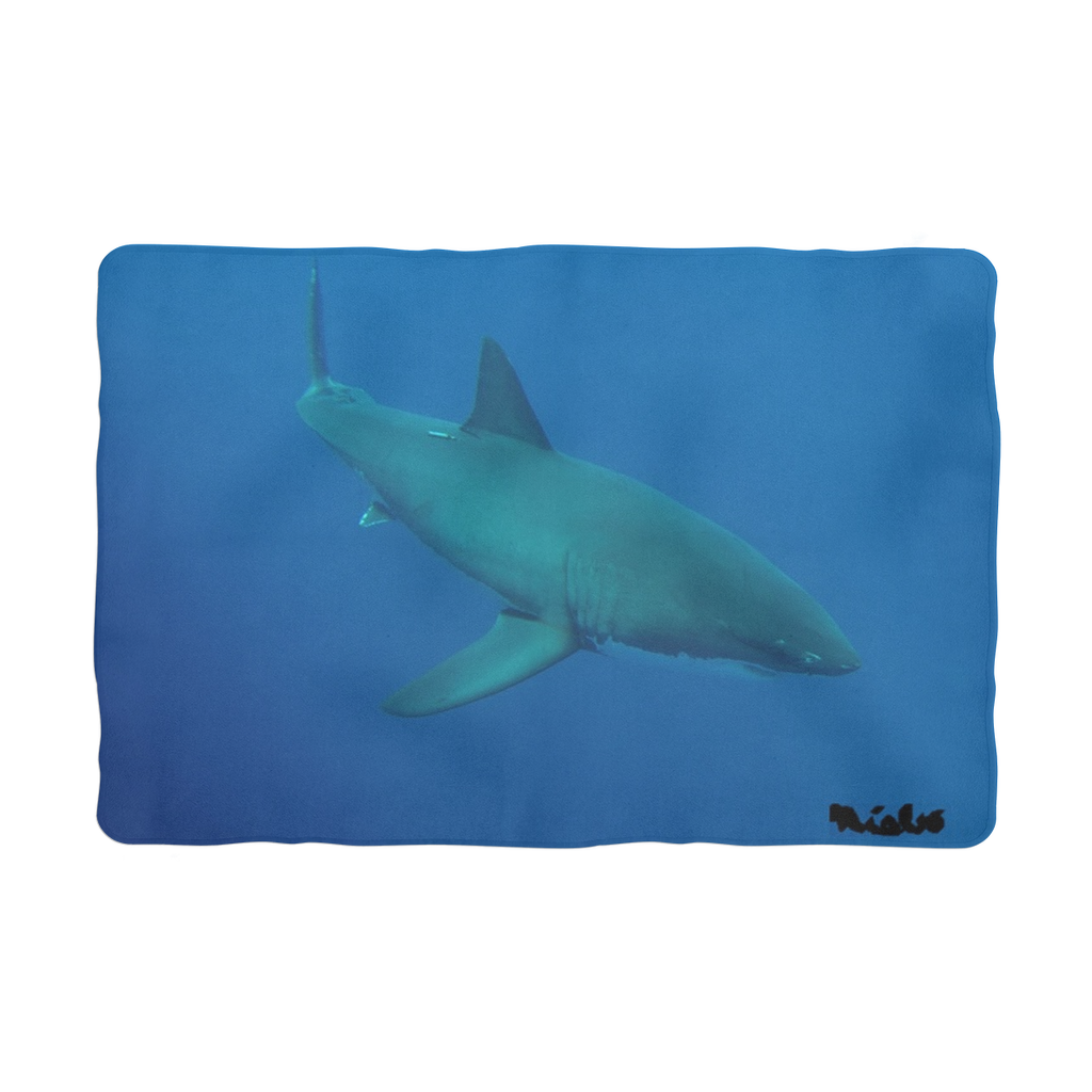 Sublimation Pet Blanket - Candy the Great White Shark Collection