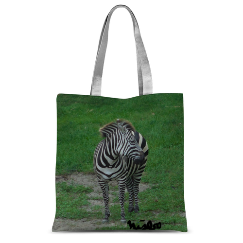Classic Sublimation Tote Bag - Zoey the Zebra Collection