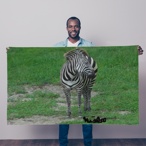Sublimation Flag/Banner - Zoey the Zebra Collection