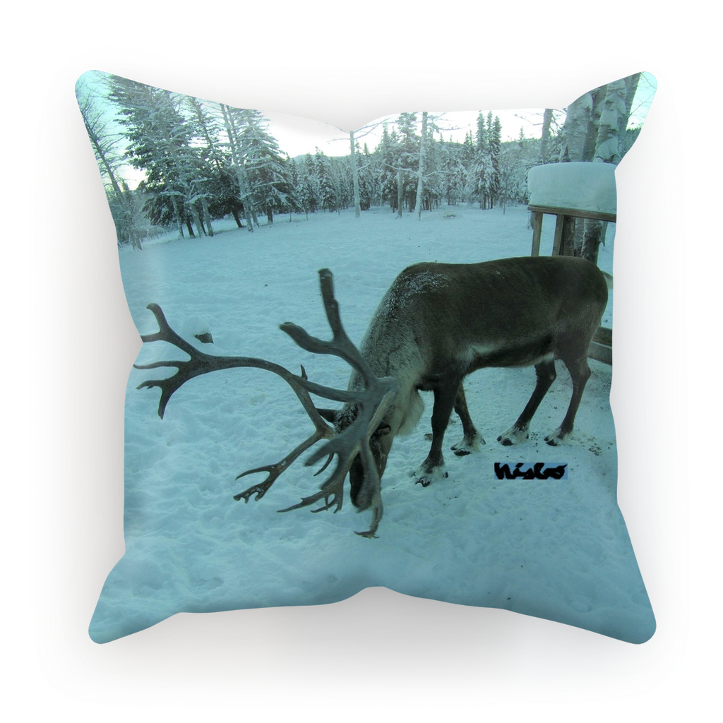 Sublimation Cushion/Throw Pillow Cover - Rudolph the Reindeer Collection