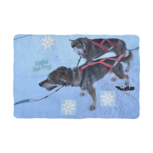 Sublimation Pet Blanket - Alaska Sled Dogs Collection
